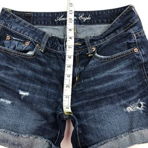 American Eagle Outfitters Shorts - AEO American Eagle Distressed Jean Shorts